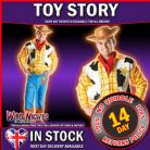 "FANCY DRESS COSTUME * WOODY TOY STORY REFRESH XL 42""-46"""